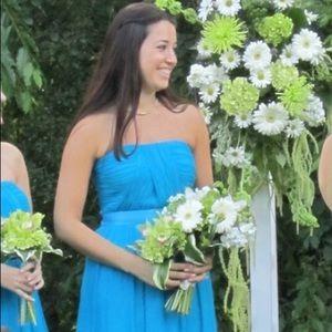 Donna Morgan Chiffon Bridesmaid Dress